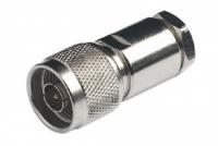Разъем N-type (male,папа) на кабель RG-213, LMR-400