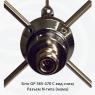 Антенна базовая Sirio GP 365-470 C